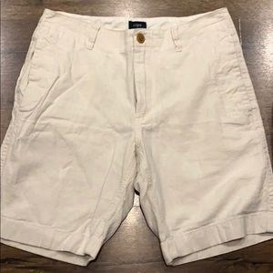 J Crew white shorts